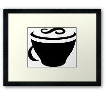 CoffeeScript Logo Framed Print