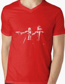 Beaten to a Pulp Fiction Mens V-Neck T-Shirt