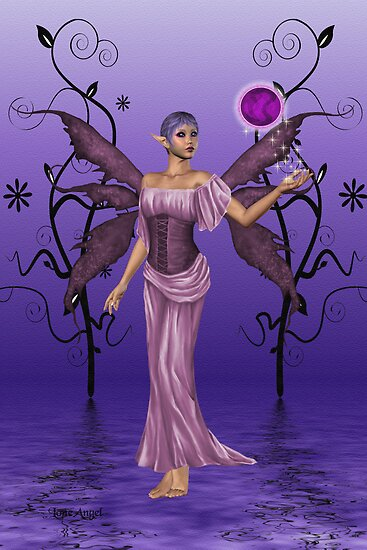 Shades of Indigo .. the fae enchantress by LoneAngel