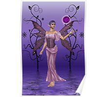 Shades of Indigo .. the fae enchantress Poster