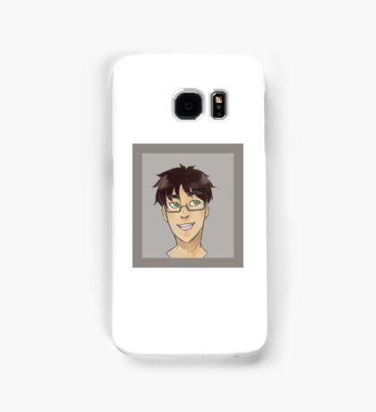Eren Yeager - Glasses Samsung Galaxy Case/Skin