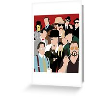 Cult Cinema Greeting Card