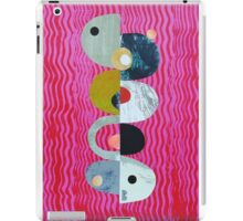 Balance on pink And Red Waves iPad Case/Skin