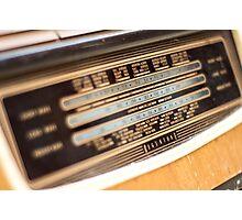 Retro Radio Photographic Print
