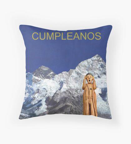 Everest The Scream World Tour Happy Birthday Italian Throw Pillow