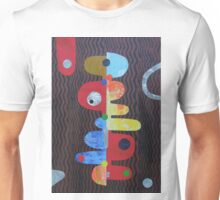 Balance On Brown Waves Unisex T-Shirt