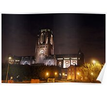 Cathedrals Light Up The Darkest Times Poster