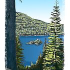Lake Tahoe, California by MarkArt