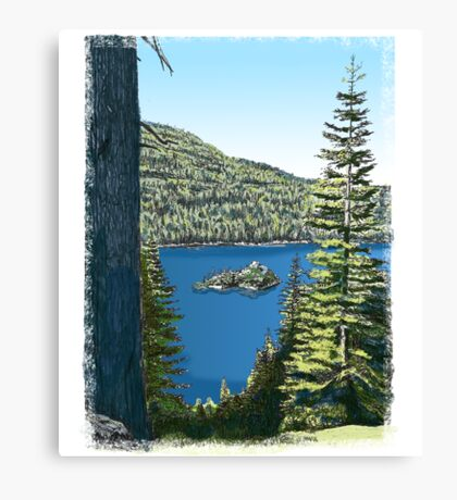 Lake Tahoe, California Canvas Print