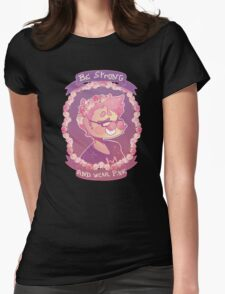 Markiplier - Flower crown Womens Fitted T-Shirt