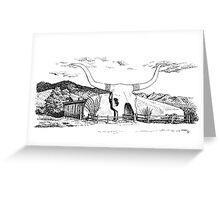 Longhorn Saloon, Arivaca, Arizona Greeting Card