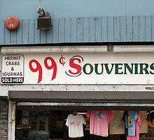 Atlantic City, New Jersey - Souvenir Store by Frank Romeo