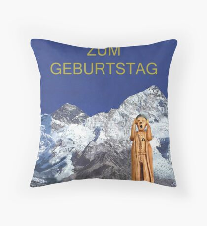 Everest The Scream World Tour German Throw Pillow