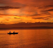 Philippine Sunset 1 by Natalie Broome