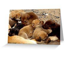 cute babies Greeting Card