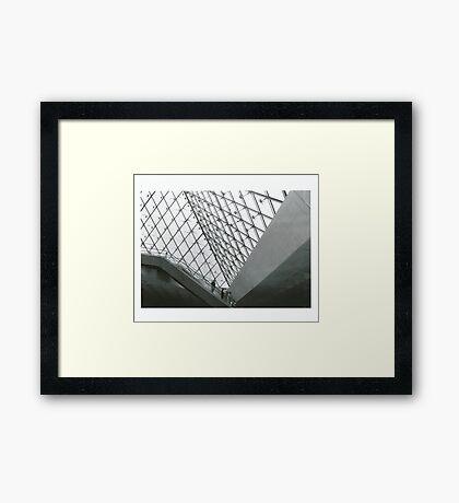 Sharp Angling  Framed Print