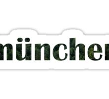"Munich ""München"" Graphic Sticker"