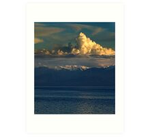 Cloud-Cap, Snow-Cap Art Print