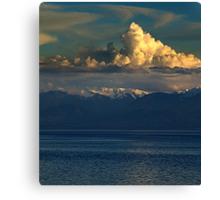 Cloud-Cap, Snow-Cap Canvas Print