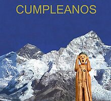 Everest The Scream World Tour Happy Birthday Spanish by Eric Kempson