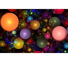 Billions of Bubbles Photographic Print