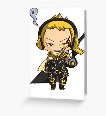 Cool Chibi Greeting Card