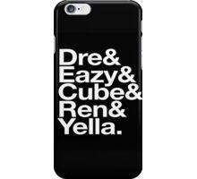 Straight Outta Helvetica iPhone Case/Skin