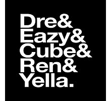 Straight Outta Helvetica Photographic Print