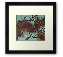 Acrylic Autumn Framed Print