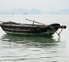 Vietnam: The Boat by Kasia-D