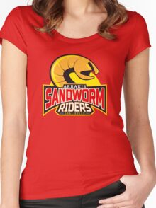 Sandworm Riders Women's Fitted Scoop T-Shirt