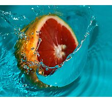 Grapefruit #1 Photographic Print