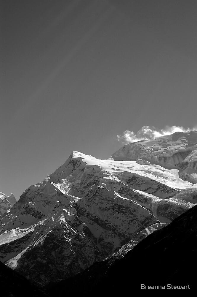 """""""Yeti Zone II""""-Himalayas by Breanna Stewart"""