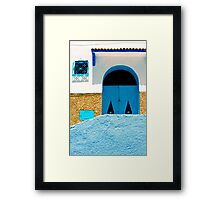 A Wall:  In Three Parts Framed Print