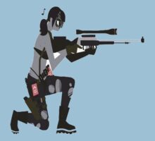 Metal Gear Solid V - Quiet 2D by Franker