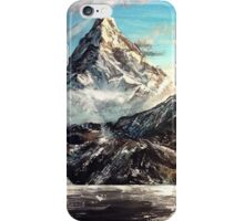 The Lonely Mountain Painting iPhone Case/Skin