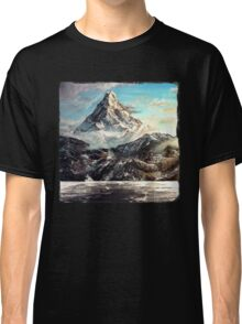 The Lonely Mountain Painting Classic T-Shirt