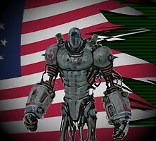 Fallout 3 | Liberty Prime (WITHOUT QUOTE) by Shaun Finbarr Swann