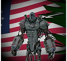 Fallout 3 | Liberty Prime (WITHOUT QUOTE) Photographic Print