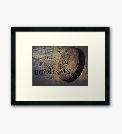 Rhythm Section Framed Print