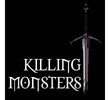 The Witcher | Killing Monsters Photographic Print