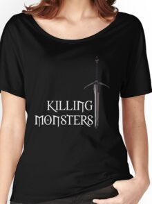 The Witcher | Killing Monsters Women's Relaxed Fit T-Shirt