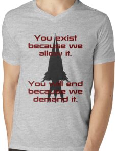 Mass Effect | Reaper Mens V-Neck T-Shirt