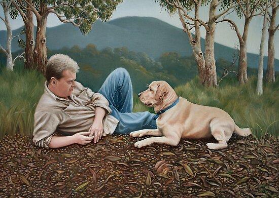 Ο καλύτερος φίλος του σκύλου...