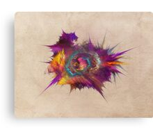 Star fractal art Canvas Print