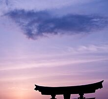 Itsukushima, Twilight by kelvincheong