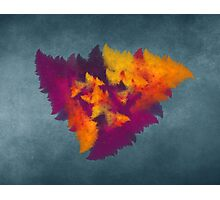 Triangles fractal art Photographic Print
