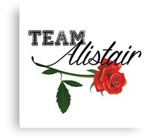 Team Alistair (for white/light background) Canvas Print