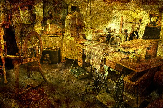 A Stitch in Time...a Long Time Ago by Wendi Donaldson
