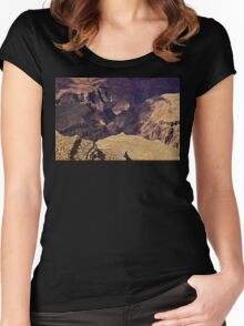 Grand Canyon V Women's Fitted Scoop T-Shirt
